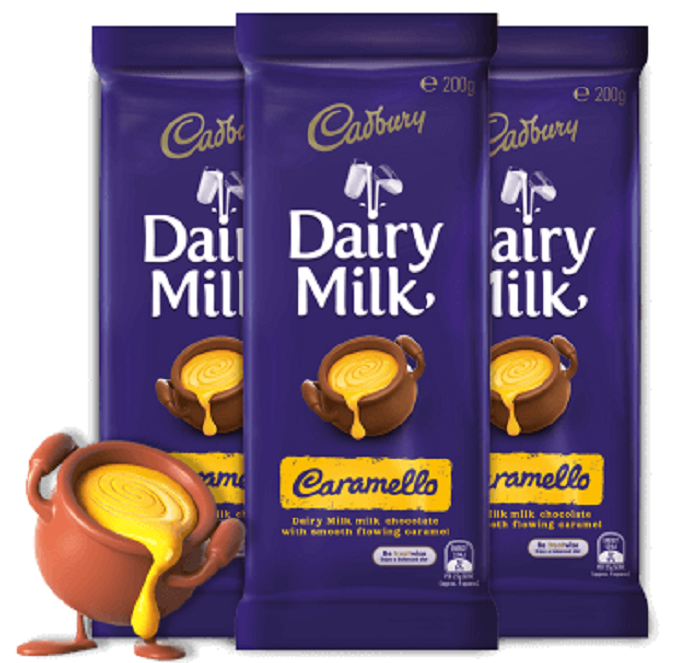 Australia Cadbury Dairy Milk Caramello 200G