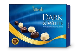 Alfredo 3 In 1 Assorted Chocolate 3 x 110G