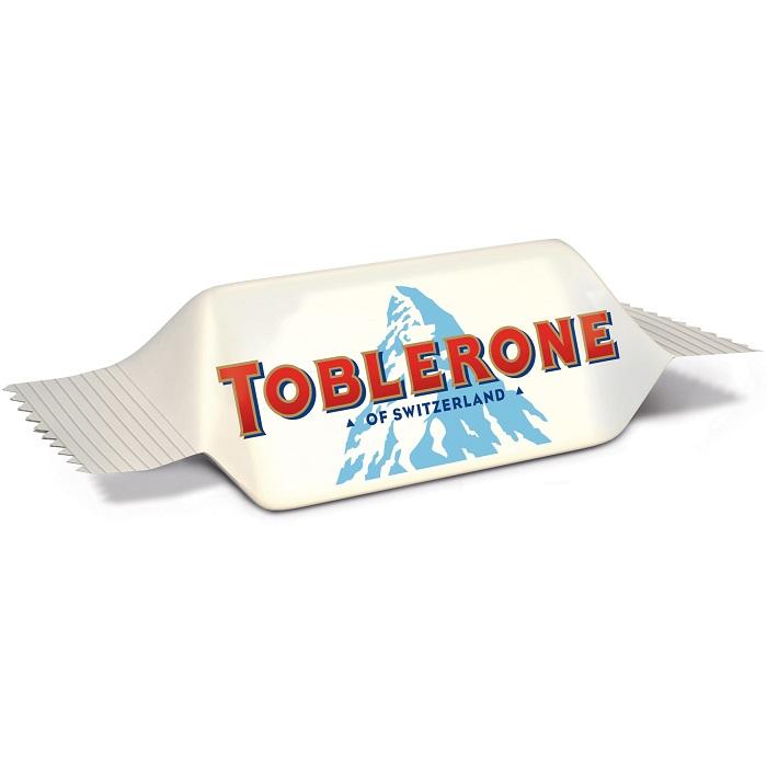Toblerone Tiny Swiss White Chocolate With Honey & Almond Nougat 200g