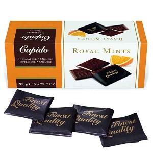Hamlet Cupido Royal Orange Mints Belgium Chocolate 200G