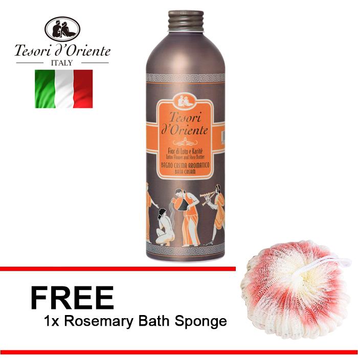 Tesori d'Oriente Lotus Flower Aand Acacia Milk SPA Bath Cream 500ml