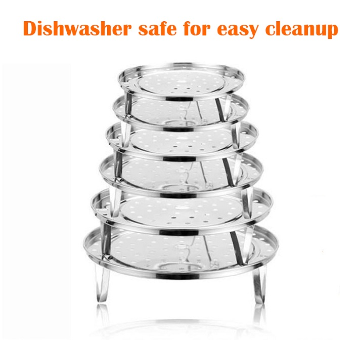 Stainless Steel Detachable Steaming Rack Traystand For Pot