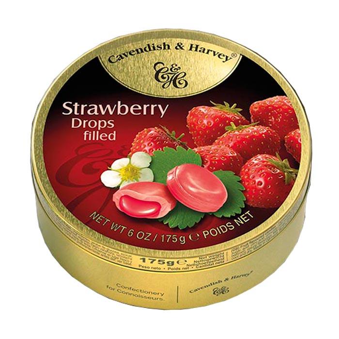 Cavendish & Harvey Strawberry Drops 175G
