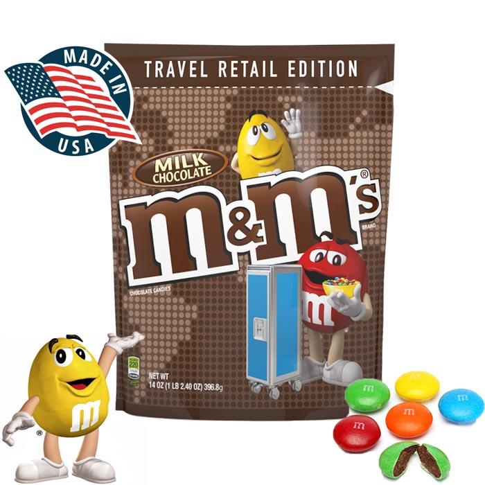 M&M Travel Retail Edition Milk Chocolate 396.9G