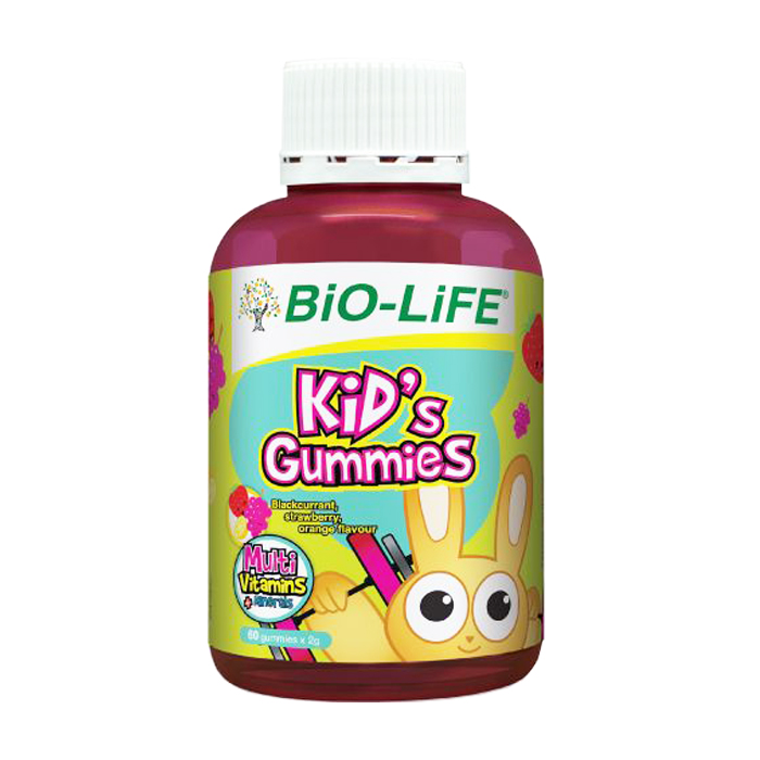 Bio-Life Kid\'s Gummies  MultiVitamins + Minerals 60\'s