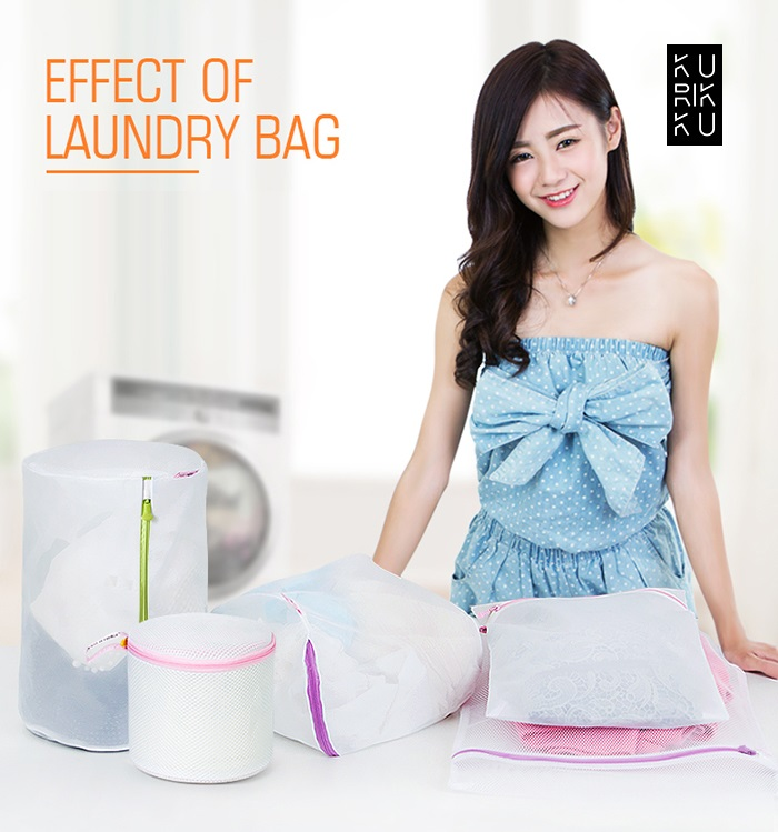 Laundry Washing Bag Clothes Green