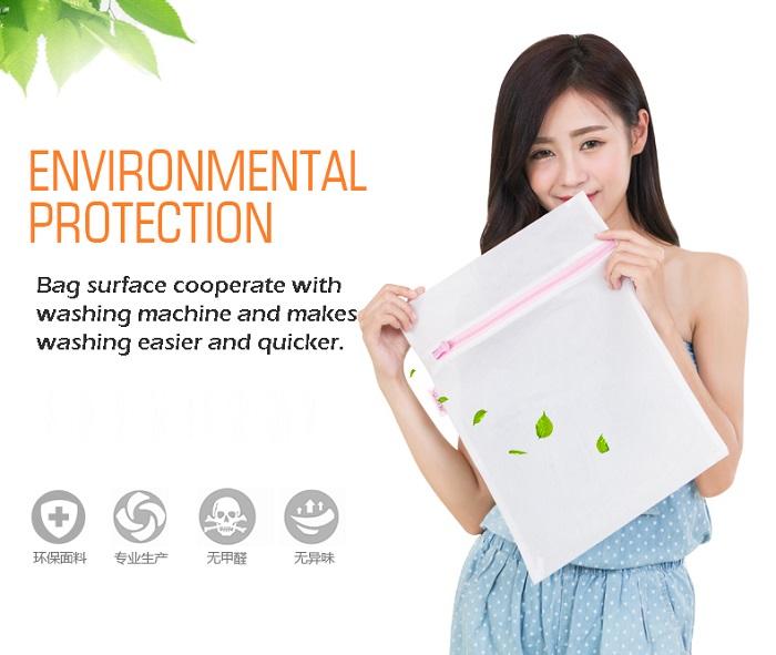 Laundry Washing Bag Clothes Green