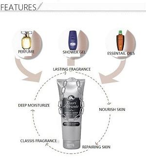 Tesori d'Oriente White Musk Bath Cream 250ml
