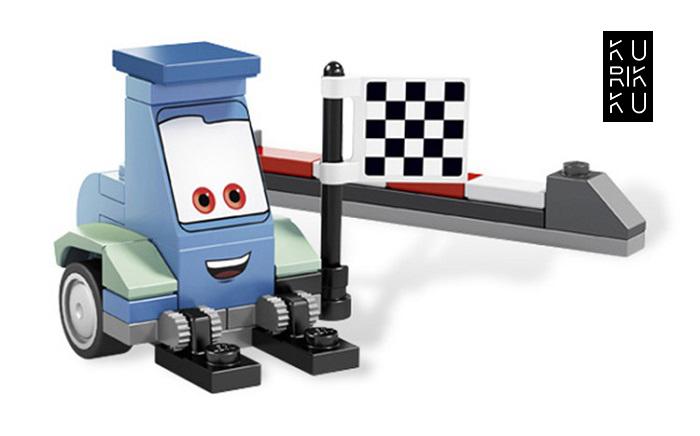 Bela Let\'s Go Cartoon Cars Building Block Series No.10010