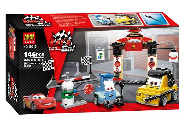 Bela Let's Go Cartoon Cars Building Block Series No.10010