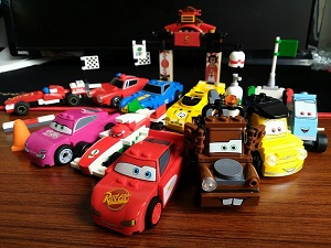 Bela Let's Go Cartoon Cars Building Block Series No.10007