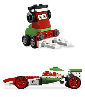 BELA LET'S GO CARTOON CARS BUILDING BLOCK SERIES NO.10014