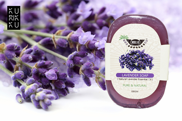 Pure & Natural Lavender Essential Oil Soap 80g
