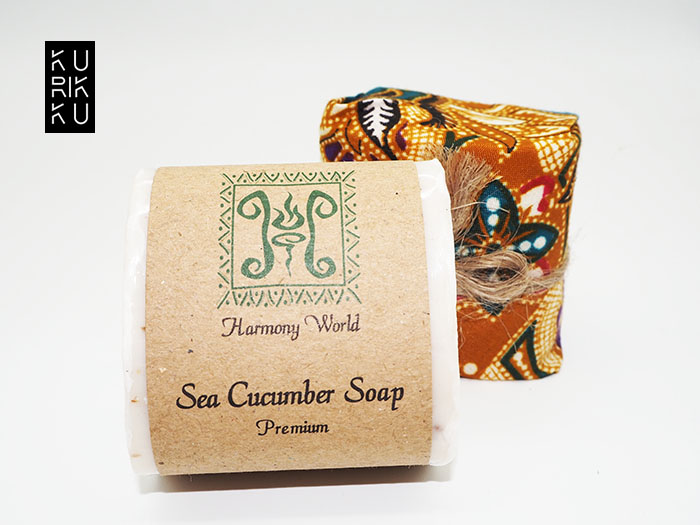 Natural Harmony World Sea Cucumber Hand Made Soap Face Make Up Remover Soap 100g
