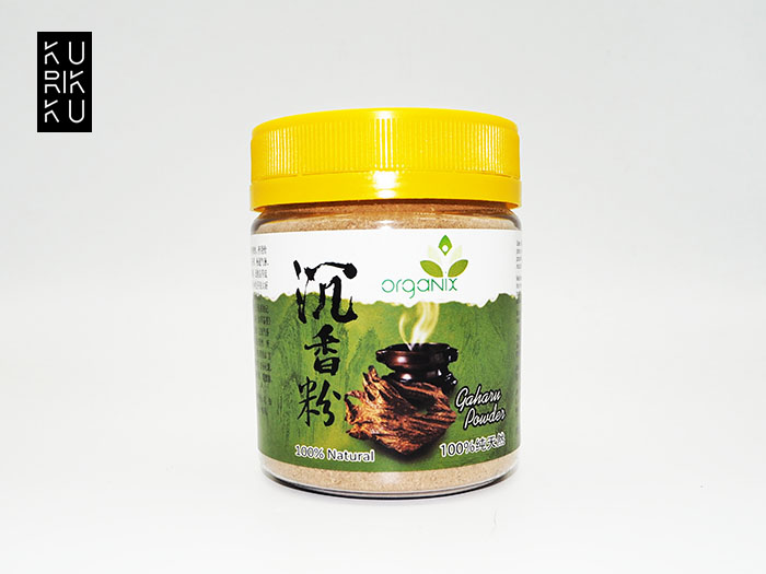 100% Natural Pure Organix Agaewood Gaharu Powder 60g For Distress Asthma Aromatic