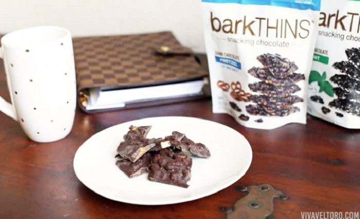 BarkThins dark Chocolate Blueberry with Quinoa Crunch 133g