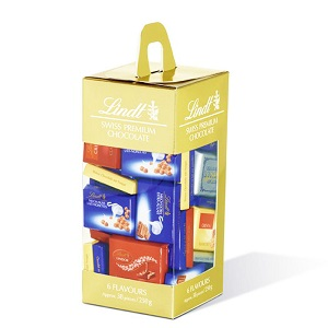 Lindt Swiss Premium Chocolate 6 Flavours Approx. 38pcs / 250g
