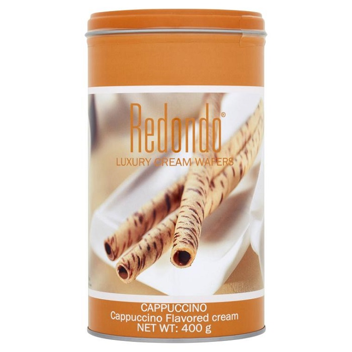 Redondo Luxury Cream Wafers Cappucino Flavoured Cream 125g / 400g