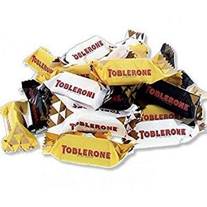 Toblerone Tiny Swiss Chocolate with honey & Almond Dougat 34Pcs / 272g