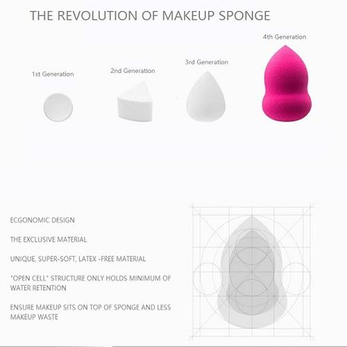 Powder Puff Make Up Sponge