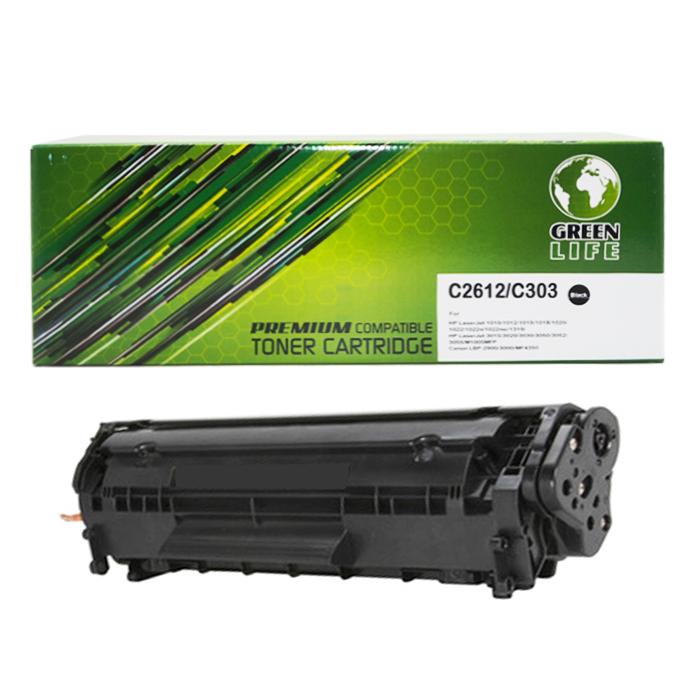 Green Life Premium Compatible Toner Cartridge C2612 / C303