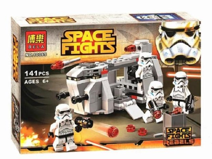 Bela Space Fights Building Block Toy No.10365