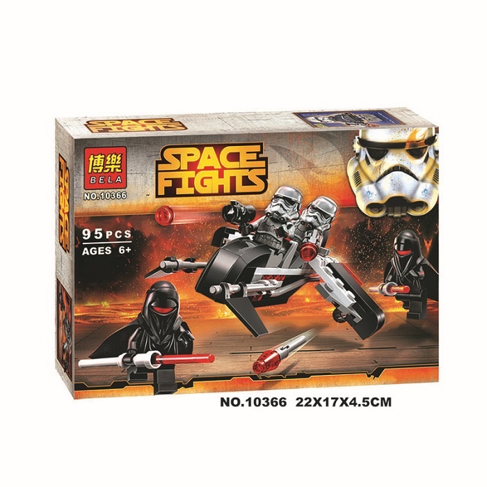 Bela Space Fights Building Block Toy No.10366