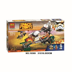 Bela Space Fights Building Block Toy No.10369