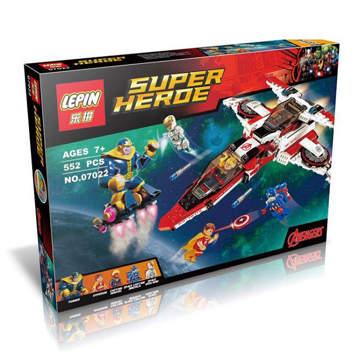 Lepim Super Hero Building Block Toy No.07022