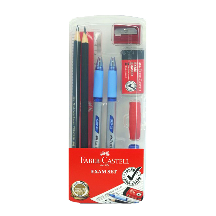 Faber-Castell Exam Set In Clear Box