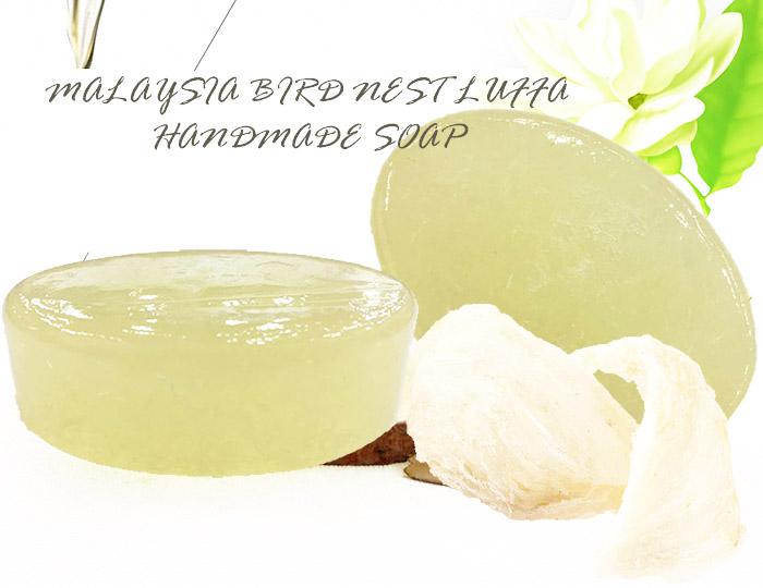 Allium Malaysian Bird Nest Luffa Handmade Soap