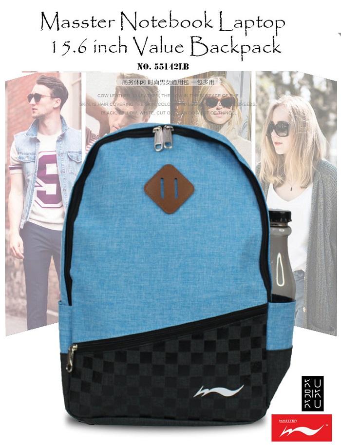 Masster 55142LB Notebook Laptop 14 inch Backpack Travel Bag