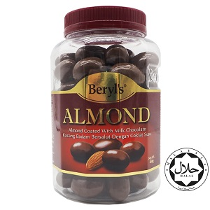 Beryl's Almond Coated With Milk Chocolate 450g