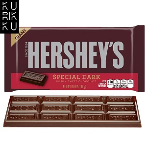 Hershey's Special Dark Giant Chocolate Bar 192g