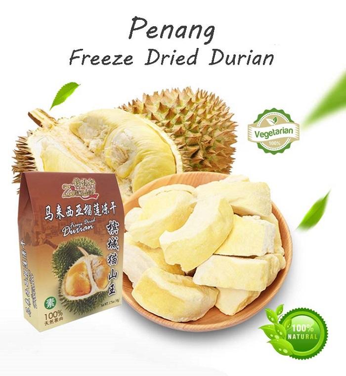 Penang Freeze Dried Durian 50g
