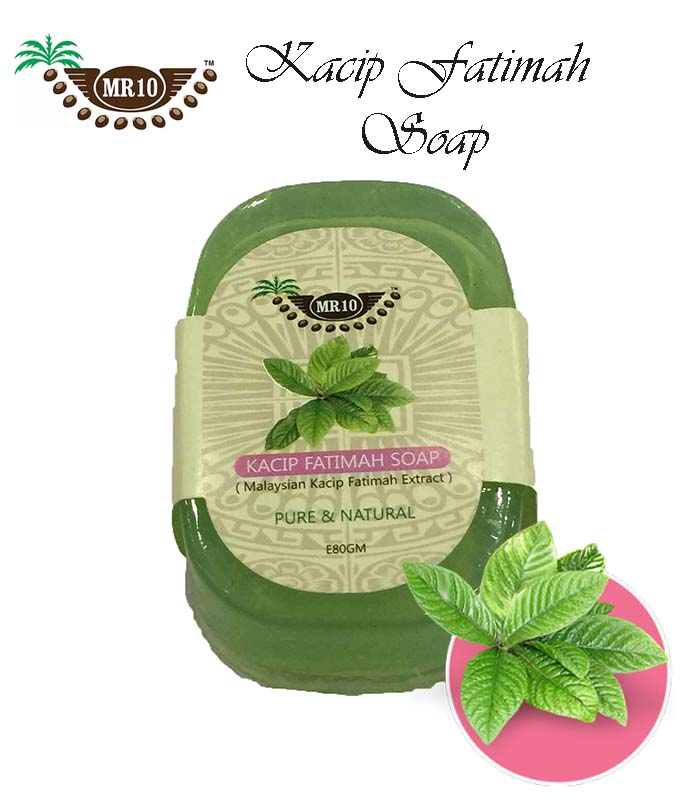 Pure & Natural Mr.10 Malaysian Kacip Fatimah Handmade Soap 80g