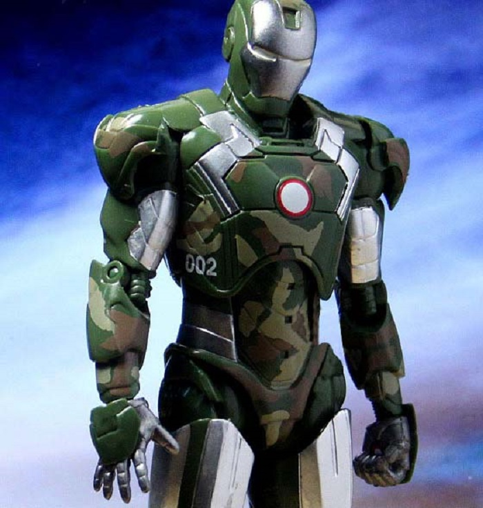 Iron Man Green Doll Model Marvel Action Figure Joints Can Be Moving Even Comic Hero Collection High