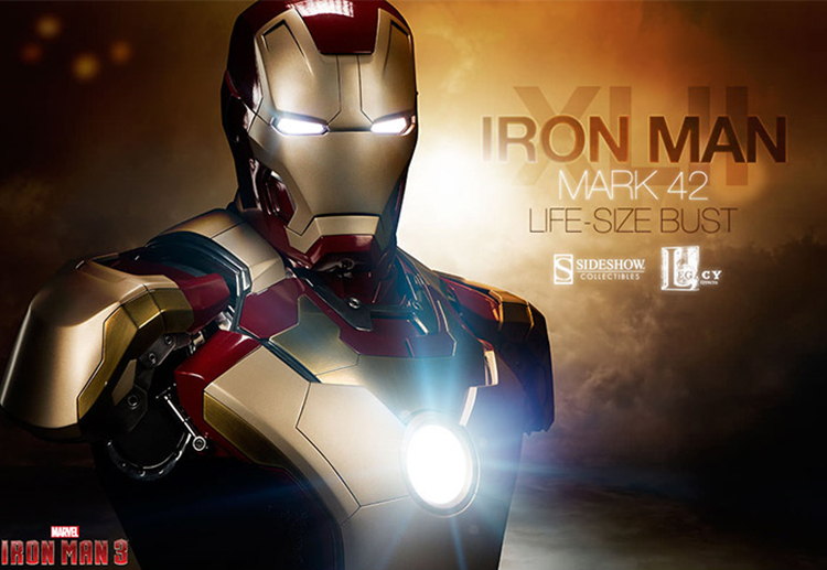 Iron Man Green Doll Model Marvel Action Figure Joints Can Be Moving Even Comic Hero Collection High 18cm