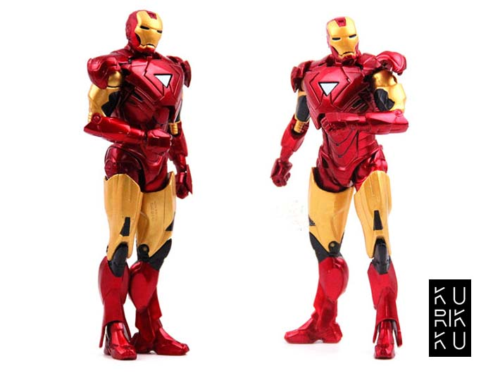 Iron Man Red Doll Model Marvel Action Figure Joints Can Be Moving Even Comic Hero Collection High 18cm