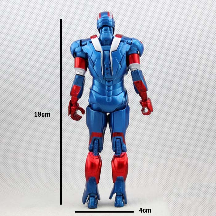Iron Man Doll Model Marvel Action Figure Joints Can Be Moving Even Comic Hero Collection High 18cm No.733264