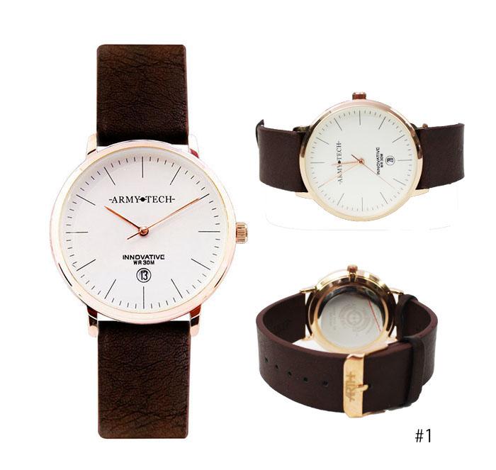 Army Tech ARSL 7010 Classic Couple Fashion Watch