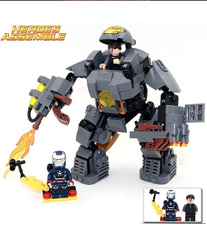 Super Heroes Avengers Bricks Iron Man Collection Blocks
