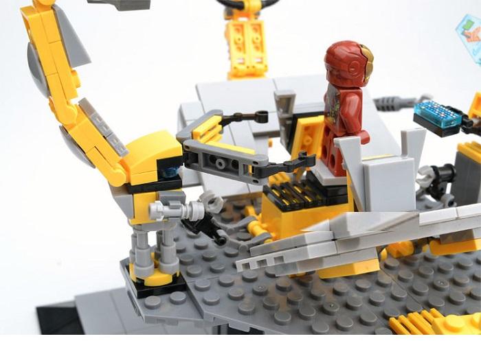 Super Heroes Avengers Bricks Iron Man Collection Blocks