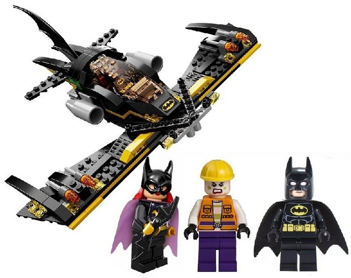 S Heroes Assemble Batman Cartoon Building Blocks No.SY316