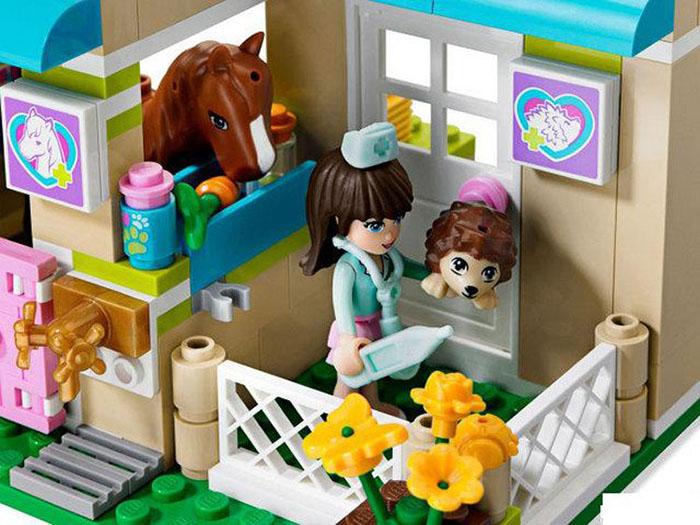 Bela Pet Hospital Friends Girls Building Block Toy No.10169
