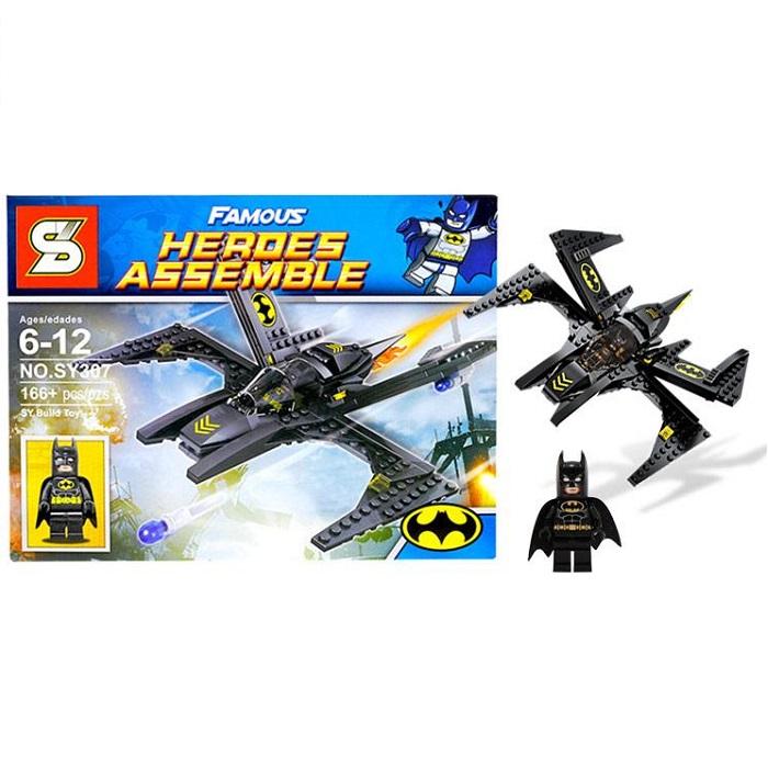 S Heroes Assemble Batman Cartoon Building Blocks No.SY307