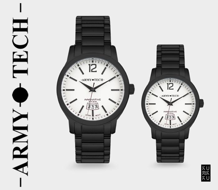 Army Tech ARSL-5047-DB Couple Fashion Watch