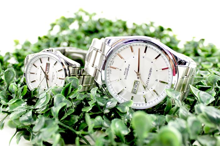 Army Tech ARSL 5040 MDDX Couple Fashion Steel Watch
