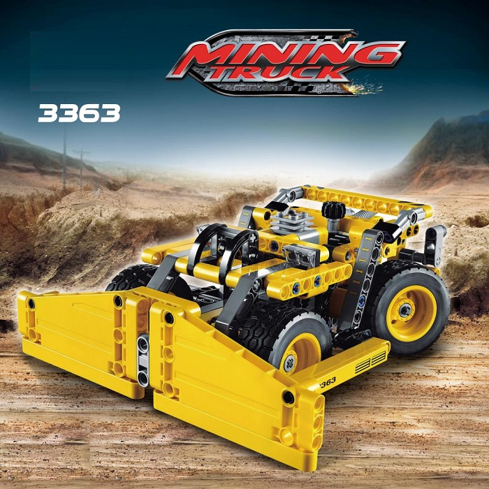 Decool 3363 Technic Transport Series Mining Truck 2 in 1 Model Building Block Sets Toys