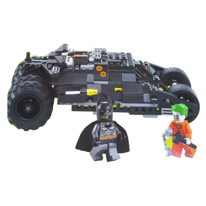 Decool 7106 Technic Transport Batman Tumbler Building Block Sets Toys